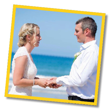 Your wedding day - your way - Coffs Harbour Elopement Packages